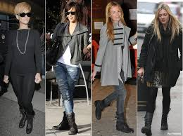 Ask The Glamazons How To Wear Combat Boots In Winter