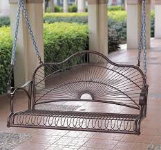 A Simple And Elegant Metal Swing Can Add Great Deal To Any Design This