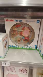 Mickey Mouse Bathroom Decor Kmart by Wooden Tea Set Kmart Christmas 2016 Pinterest