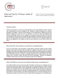 Motivation Letter Sample For Job Application Write A Motivational