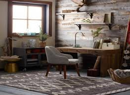 Ideas For Sunrooms Rustic Office Design Home