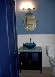 bathroom cozy royal blue bathroom accessories with mirror also