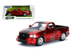 1999 Ford F-150 SVT Lightning Truck Just Trucks Candy Red 1/24 By ...