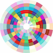 Colorful abstract circle design Free vector in Adobe Illustrator