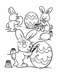 Bunnies Coloring Pages Looney Tunes Lovely Bugs Bunny Page Free Printable Easter