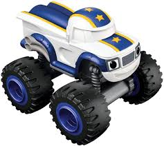 100 Power Wheel Truck S Nickelodeon Blaze The Monster Machines Toy Car