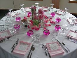 Elements Of The Reception Table Setting