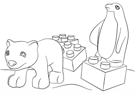 Click To See Printable Version Of Lego Friends Animals Coloring Page