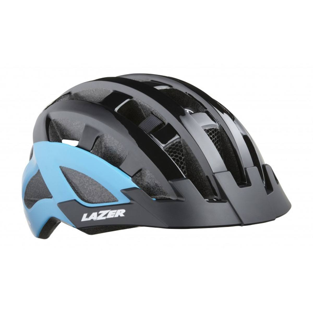Lazer Compact DLX Cycling Helmet Black Blue