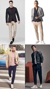 Smart Casual Outfits With Jackets