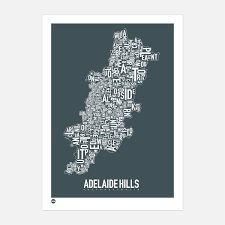 100 For Sale Adelaide Hills Type Map