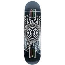 element skateboards rasta sted nyjah huston skateboard deck