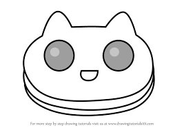 Learn How to Draw Cookie Cat from Steven Universe Steven Universe Step by Step Drawing Tutorials