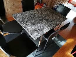 esstisch aus echt marmor 5 stühle kaufen auf ricardo