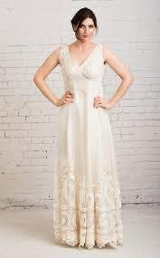 Rustic Wedding Dress Boho Casual