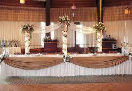 salle de fete décoration salle de réception de mariage