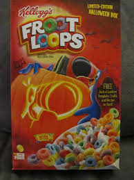 Ihop Halloween Free Pancakes 2014 by Kellogg U0027s Froot Loops Halloween Box 2014 Package Halloween