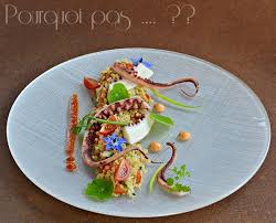 cuisiner poulpe frais pourquoi pas poulpe boulghour poivrons tomates
