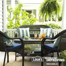 Lowes Canada Patio Furniture by Allen Roth 2 Piece Gatewood Outdoor Loveseat And Coffee Table