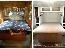 Class C Motorhome With Bunk Beds by Interior Amazing Camper Remodel Ideas Camper Reno Best Images