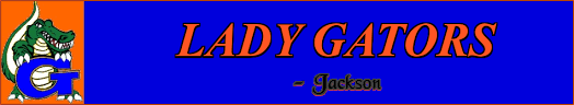 Lady Gators Jackson Home Page