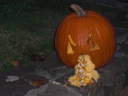 Puking Pumpkin Carving Ideas by Musings Of A Creative Writer Halloween Pumpkin Ideas