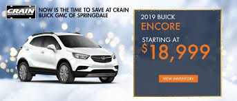 Crain Buick GMC Of Springdale - Your New And Used Vehicle Dealership