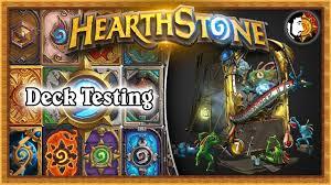 hearthstone big shaman deck testing part 3 november 2017