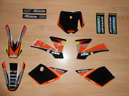 kit deco 125 sx 2004 kit déco complet ktm sx 50 02 à 08 rd2shop fr