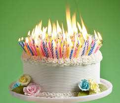 Best 25 Birthday cake with candles ideas on Pinterest