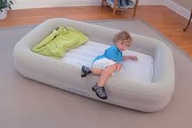 inflatable bed for kids inflatable toddler travel bed great for