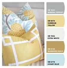 burke armless upholstered slipper chair aegean blue yellow