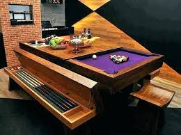Dining Pool Table Combo Combination Room