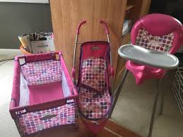 Find More Graco Baby Doll Playset For Sale At Up To 90% Off Graco Souffle High Chair Pierce Doll Stroller Set Strollers 2017 Vintage Baby Swing Litlestuff Best Of Premiumcelikcom 3pc Girls Accessory Tolly Tots 4 Piece Baby Doll Lot Stroller High Chair Carrier Just Like Mom Deluxe Playset With 2 In 1 Sleepsack For Duodiner Eli Babies R Us Canada 2013 Strollers And Car Seats C798c 1020 Cat Double For Dolls Youtube 1730963938 Amazoncom With Toys Games
