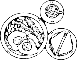 Healthy Living Clipart Black And White