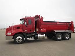 100 Mack Dump Trucks PINNACLE CXU613 And Trailers Volvo CE