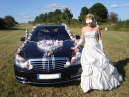 créations deco voiture maries