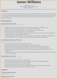 New Rn Resume Unique Examples For Nurses Of