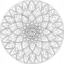 Mandala Coloring Pages Adults Printable Web Art Gallery Free For Printables
