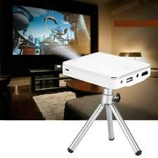 dlp wifi mini projektor 4k hd led heimkino beamer hdmi für android ios de
