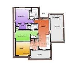 Autocad 2d House Plan Drawings House Floor Plans