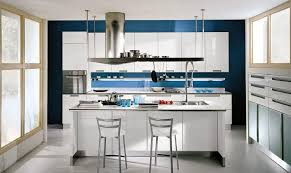White Kitchen Island Designs With Seating