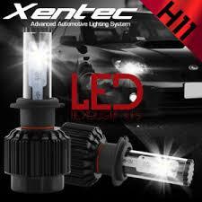2x xentec h11 led headlight bulb gmc 2500 3500 hd 2008 2014