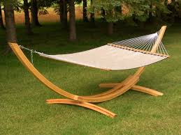 Hammock Outdoor Design: Curved Wooden Hammock Stand Combine White ... Patio Ideas Oversized Outdoor Fniture Tables Marvelous Pottery Barn Kids Desk Chairs 67 For Your Modern Office Four Pole Hammock Nilasprudhoncom 33 Best Lets Hang Out Hammocks Images On Pinterest Haing Chair Room Ding Table Design New At Home Sunburst Mirror Paving Architects Hammock On Stand Portable Designs May 2015 No Cigarettes Bologna 194 Heavenly Hammocks Bubble Cheap Saucer Baby Fniturecool Diy With Ivan Isabelle 31 Heavenly Outdoor Ideas Making The Most Of Summer