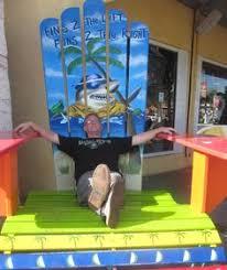 Custom Painted Margaritaville Adirondack Chairs by Margaritaville U0026 Cheeseburger Chairs Margaritaville Pinterest