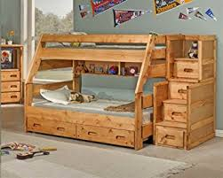 Amazon Twin Over Full Bunk Bed with Trundle Kitchen & Dining