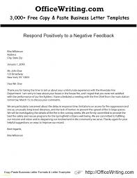 Resume Templates I Can Copy And Paste New Respond Positively To A Negative Feedback Check Our