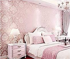 tapete luxuriöses damaskus blumen rosa 3d vliestapete küche schlafzimmer wohnzimmer tv background dekoration
