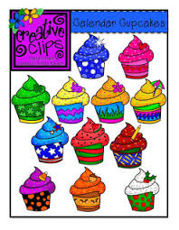 e of my first clipart requests was for Calendar Cupcakes each with a monthly holiday theme d not too surprisingly cupcakes made an appearance in my
