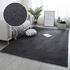 de zpspz teppich grau kurzflor teppich wohnzimmer
